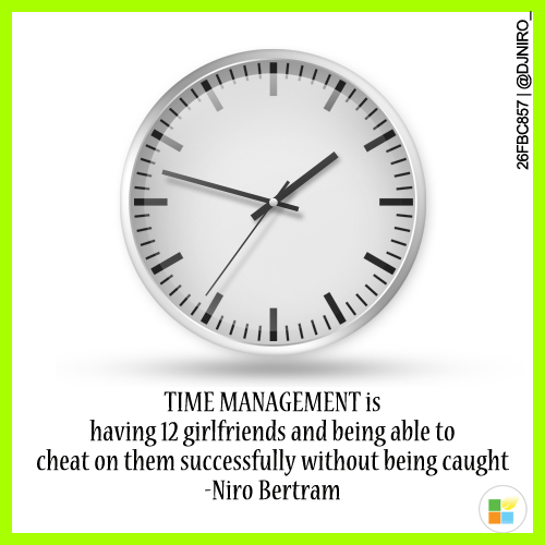 time management by punstarr
