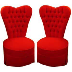 22 heart-y chairs.