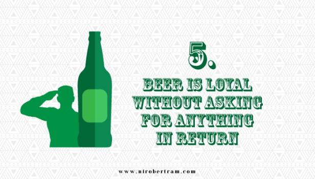 beer is loyal